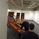 loading in the skee-ball machines