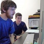 Aaron & Adam try to recover the lost data file.